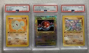 3 Vintage Psa Graded Pokemon Card Bundle! for Sale in Holbrook, AZ