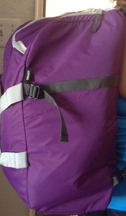Smart Backpack In Purple/ Gray (Duffle Bag) for Sale in Vista,  CA