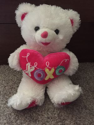 cute white teddy bear for Sale in Sacramento, CA