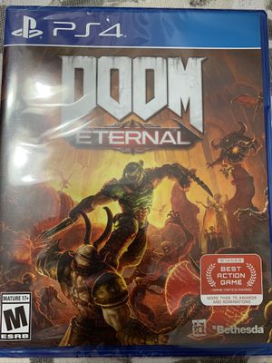 Doom eternal ps4 for Sale in Annandale, VA