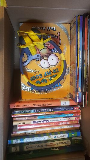 Kids books set. Including awesome titles. Diary of a wimpy kid and Dogman series for Sale in The Bronx, NY