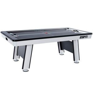 ESPN Premium 84 Inch Air powered Hockey Table with Led Touch Screen Scorer, Gray, 7ft for Sale in Norcross, GA