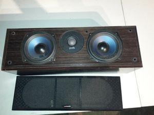 Polk Audio Center speaker for Sale in CARPENTERSVLE, IL