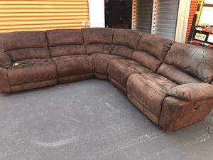 Sectional Couch Sofa Power Recliner *FREE DELIVERY* for Sale in Berkeley Township, NJ