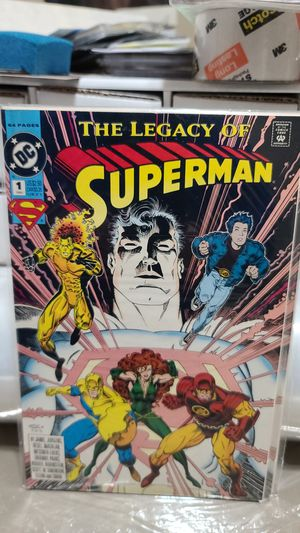 DC COMIC, The Legacy of Superman for Sale in Albuquerque, NM