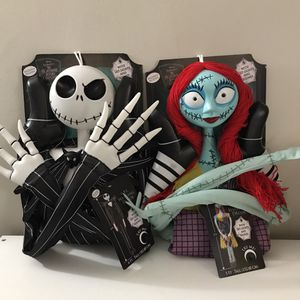 Disney Tim Burton's The Nightmare Before Christmas Bride and Groom for Sale in Oak Park, IL