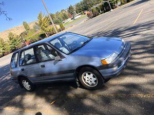 1989 Honda Civic Wagon 4WD 149k miles for Sale in East Wenatchee, WA