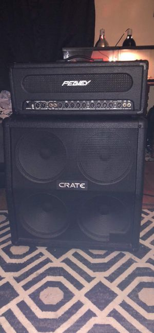 Peavey half stack crate 4x12 for Sale in Pandora, OH