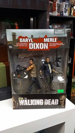 Daryl And Merle Walking Dead Action Figure Set for Sale in Vancouver, WA