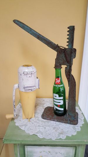 Antique ice crusher and bottle capper for Sale in Langhorne, PA