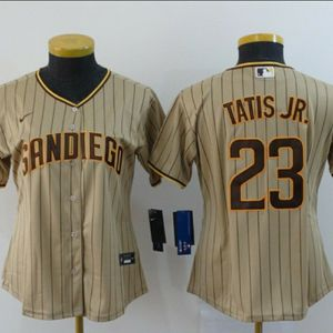 STITCHED WOMEN'S SAN DIEGO PADRES BASEBALL JERSEY for Sale in Camp Pendleton North, CA