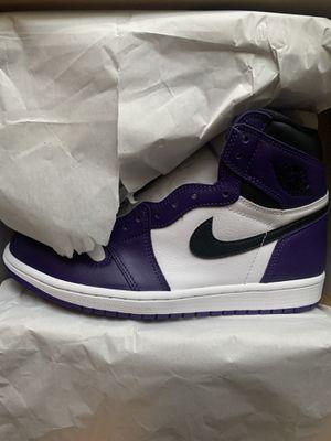 DS Court purple jordan 1's (size 7.5 ) for Sale in Miami, FL