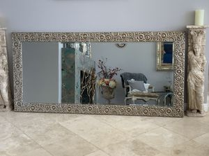 """80""""x 40"""" absolutely gorgeous, this mirror brightens up any room in your house , well made and in the heavy side. for Sale in Laguna Niguel, CA"""