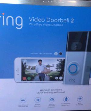 Ring video doorbell 2 for Sale in Wesley Chapel, FL