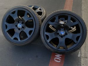 BMW X5 rims and tires for Sale in Santa Ana, CA