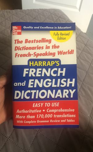 French and English Dictionary for Sale in Hialeah, FL