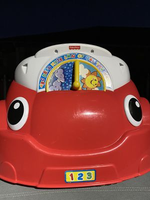 Fisher Price Laugh Learn Car for Sale in Dallas, TX