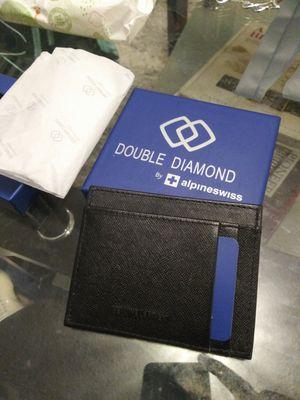 Alpine Swiss double diamond minimalist wallet for Sale in Richardson, TX