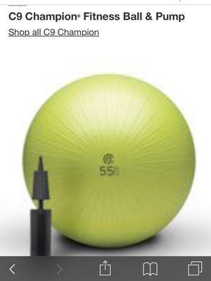 Fitness ball for Sale in Buffalo, NY