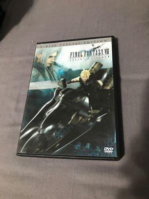 Final Fantasy VII Advent Children CLEAN DISCS for Sale in Fresno, CA