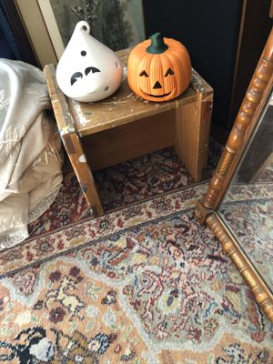Halloween Large Ghost and Pumpkin Luminaries for Sale in Suffolk, VA
