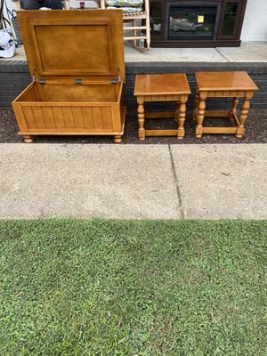Solid wood set for Sale in Murfreesboro, TN
