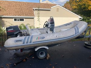 Fiberglass Inflatable Boat for Sale in Broomall, PA