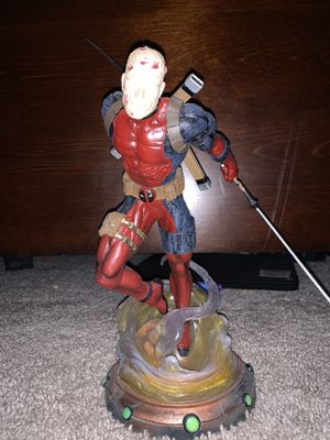 Deadpool collectable statue for Sale in Houston, TX