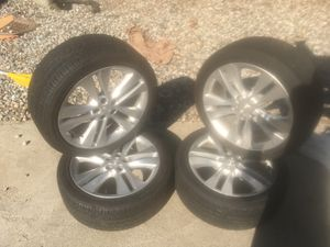 Chevy Cruz rims and tires 225/45/R18 for Sale in Wenatchee, WA