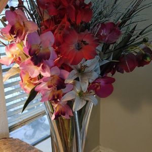 Large Heavy Crystal Vase Flowers for Sale in Lewisville, TX