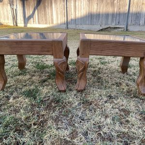 2 Short End Tables for Sale in Fresno, CA