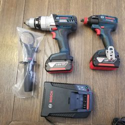 Bosch 18 Volt Hammer Drill/ Driver & Impact Driver for Sale in Gresham,  OR