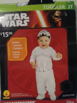 Toddler Halloween costume Star Wars Stormtrooper size 2T for Sale in Fort Myers, FL