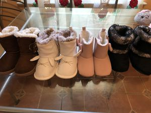 Baby girl boots. for Sale in Detroit, MI