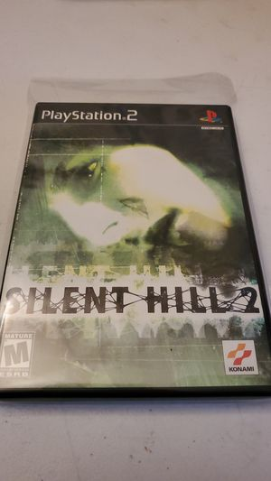 Silent Hill 2 Ps2 Sony Playstation Konami Rare Very Good Fully Tested for Sale in Fresno, CA