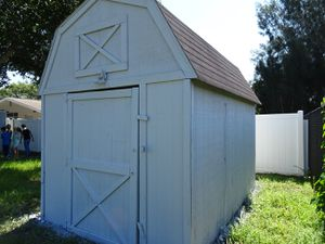 STORAGE SHED WOOD 8X12' USED IN GOOD CONDITION for Sale in Tampa, FL
