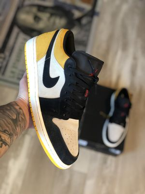 """Jordan 1 low """"university gold"""" for Sale in WILOUGHBY HLS, OH"""