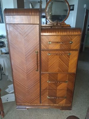 1920s amoire and desk for Sale in Sebring, FL
