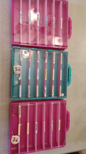 Shopkins collector cases three for Sale in Kissimmee, FL