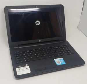 HP Notebook 15-ba079dx Touchscreen AMD A10-9600P, 6GB RAM, 120GB SSD, Win10 Pro for Sale in Baltimore, MD