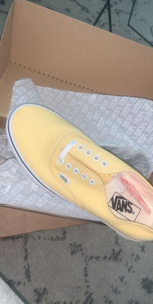 Yellow authentic vans for Sale in Houston, TX