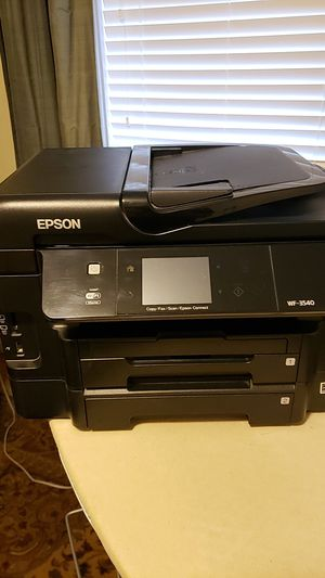 EPSON ALL IN ONE PRINTER WF-3540 for Sale in Marysville, WA