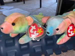 Sammy - Beanie Babies x2 (selling for hundreds on eBay) for Sale in Sacramento, CA