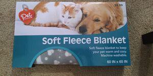 Pet fleece blanket $7 for Sale in Goodyear, AZ