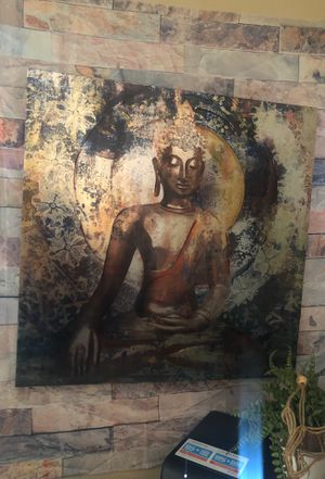 Painted Buddha canvas Photo for Sale in Las Vegas, NV