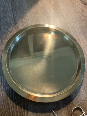 Ikea gold/brass tray/platter for Sale for sale  San Diego, CA