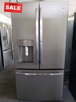 🚀🚀🚀Ice and water not working Refrigerator Fridge GE #1427🚀🚀🚀 for Sale in Fontana, CA