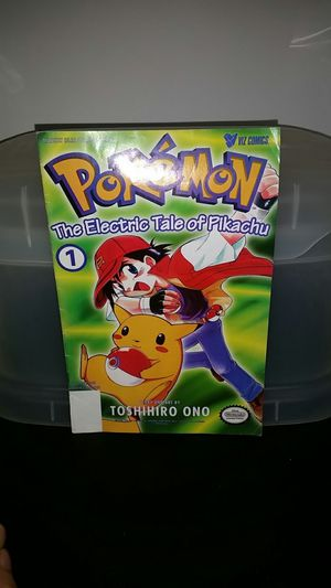 Pokemon comic the electric tale of Pikachu for Sale in Seattle, WA