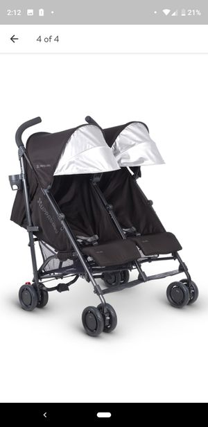 UPPAbaby G-LINK Jake Aluminum Frame Reclining Side by Side Umbrella Stroller for Sale in Seattle, WA
