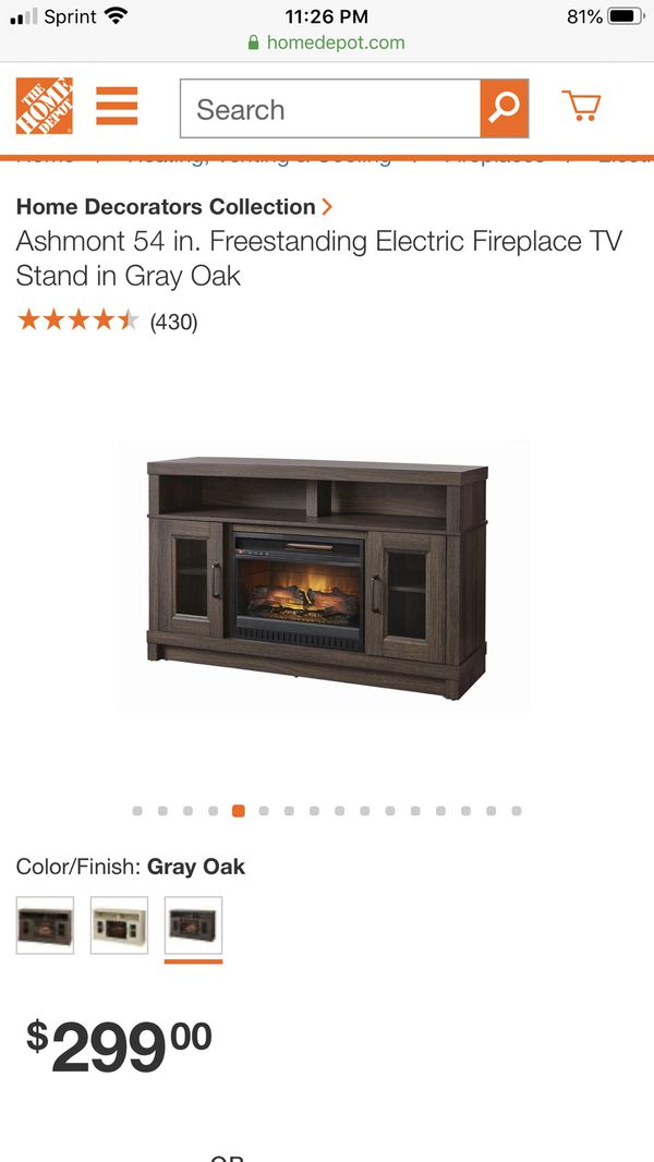 Electric Fireplace - Tv Stand - Brand New